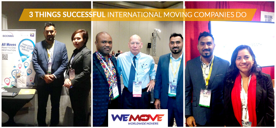 international moving Companies