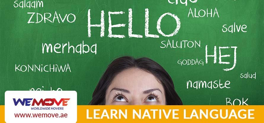 Learn native language