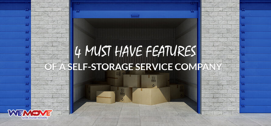 Self Storage Services Company in Dubai