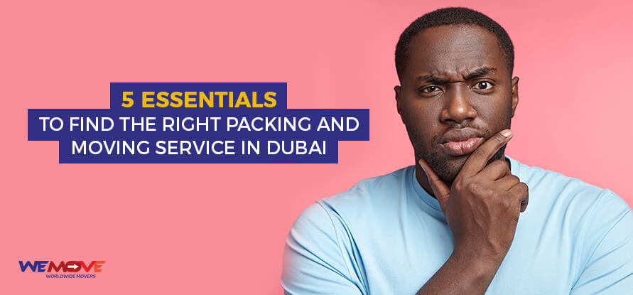 packing and moving services in dubai