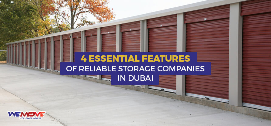 Features Storage Companies in Dubai