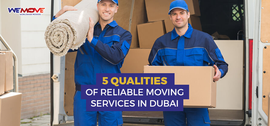 reliable moving services in dubai