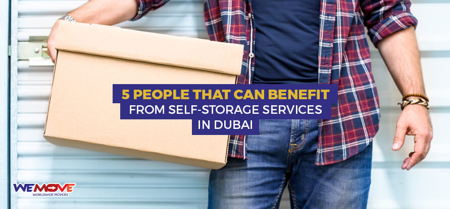 Benifits from self storage services in Dubai