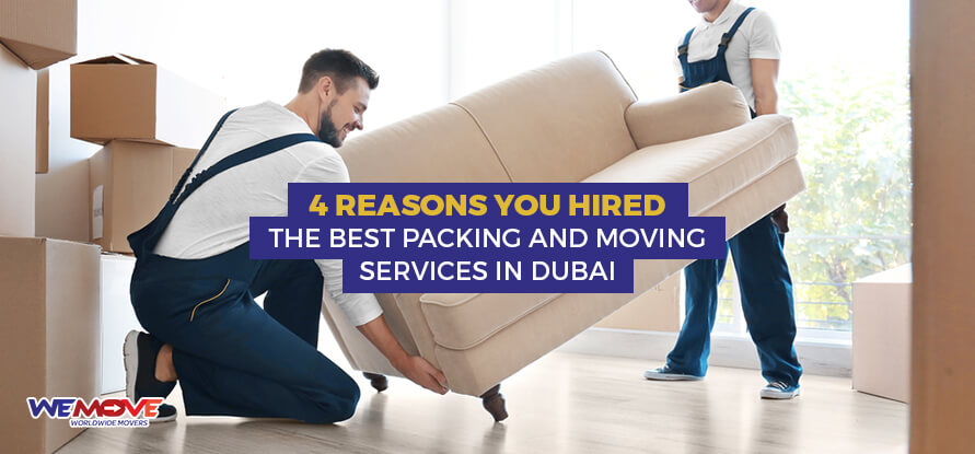Hired The Best Packing and Moving Services In Dubai