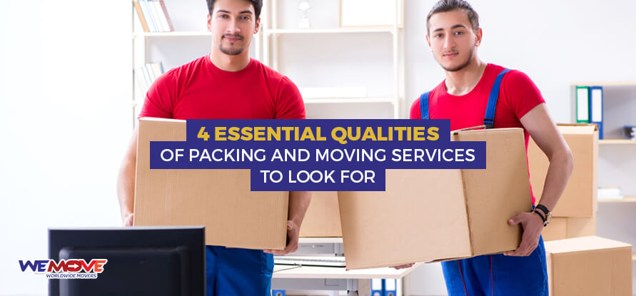 Qualities of Packing and Moving Services in Dubai