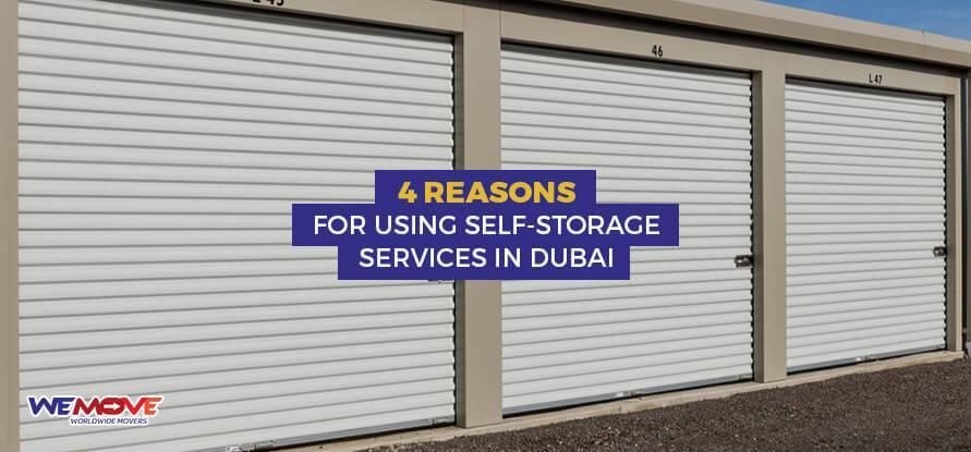 Self-Storage Services in Dubai