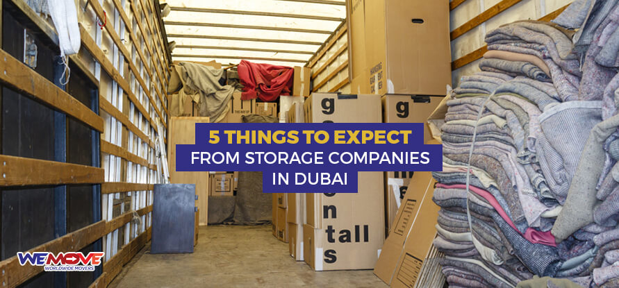 Expect From Storage Companies in Dubai