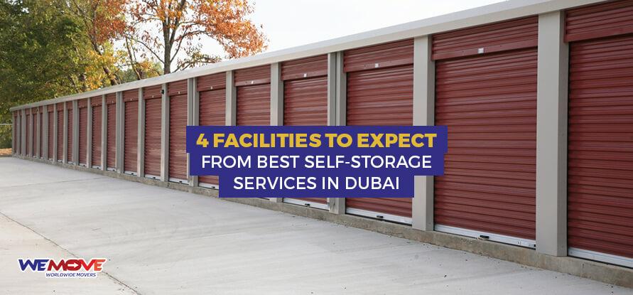 Expects from self storage services in Dubai