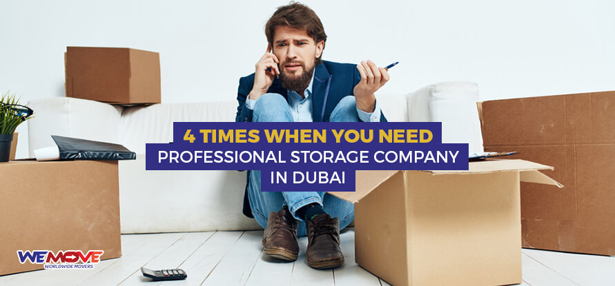 Professional storage company in Dubai