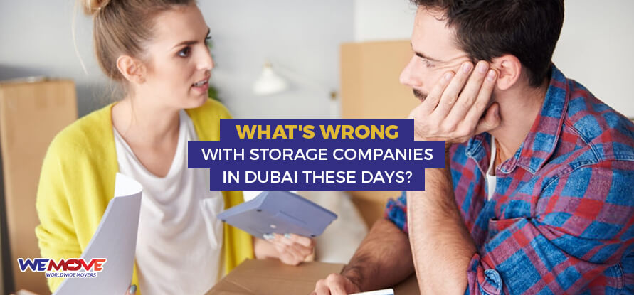 With Storage Companies in Dubai