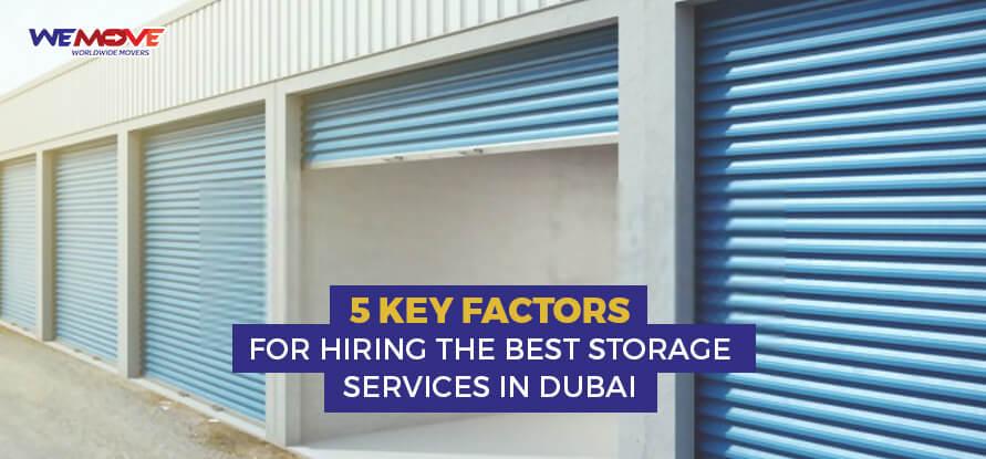 storage services in dubai