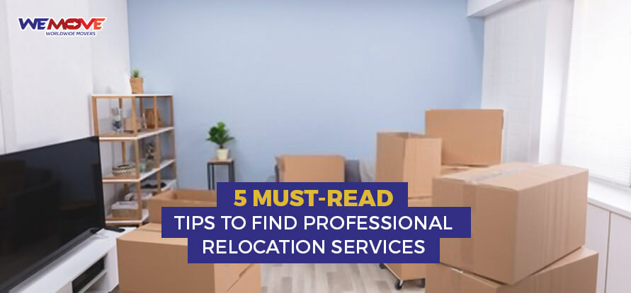 professional relocation services